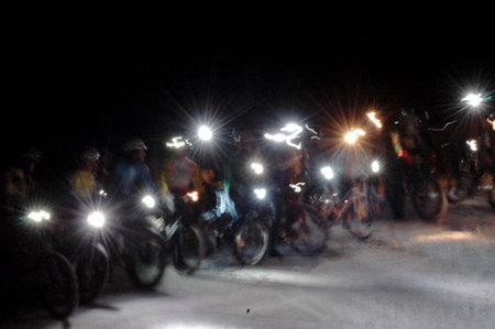 WinterBike at Copper Mountain