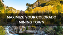 Maximize Your Mining Town